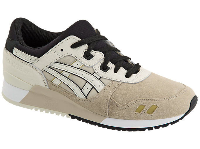 Front Right view of GEL-LYTE III, FEATHER GREY/BIRCH