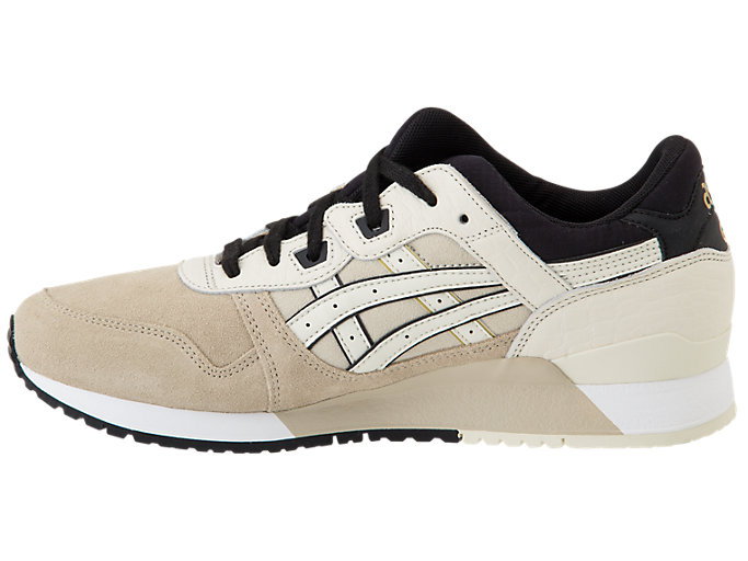 Left side view of GEL-LYTE III, FEATHER GREY/BIRCH