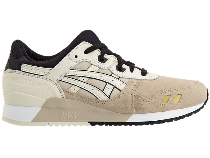 Right side view of GEL-LYTE III, FEATHER GREY/BIRCH