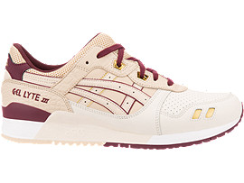 Right side view of GEL-LYTE III, BIRCH/BEIGE