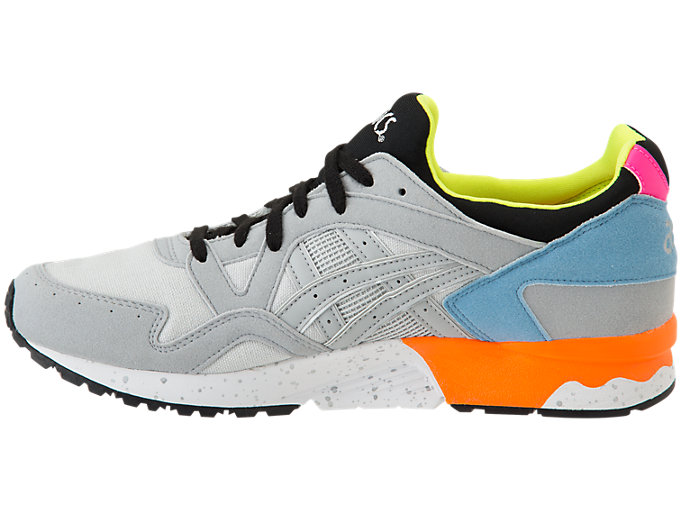 Left side view of GEL-LYTE V, MID GREY/MID GREY