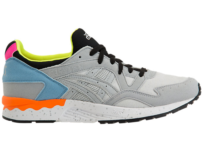 Right side view of GEL-LYTE V, MID GREY/MID GREY