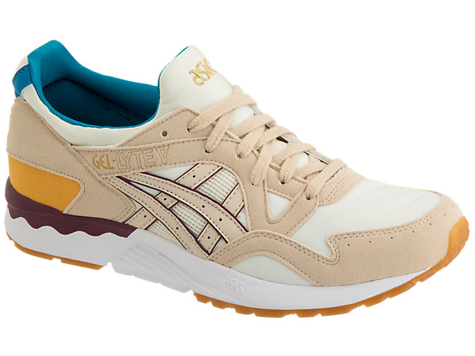 Front Right view of GEL-LYTE V, BIRCH/BEIGE