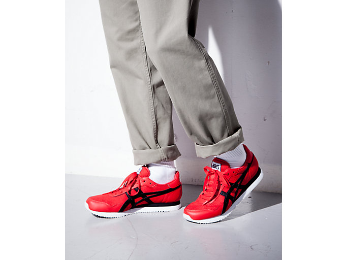 Alternative image view of TIGER RUNNER, CLASSIC RED/BLACK