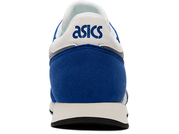 Back view of TARTHER™ OG, WHITE/ASICS BLUE