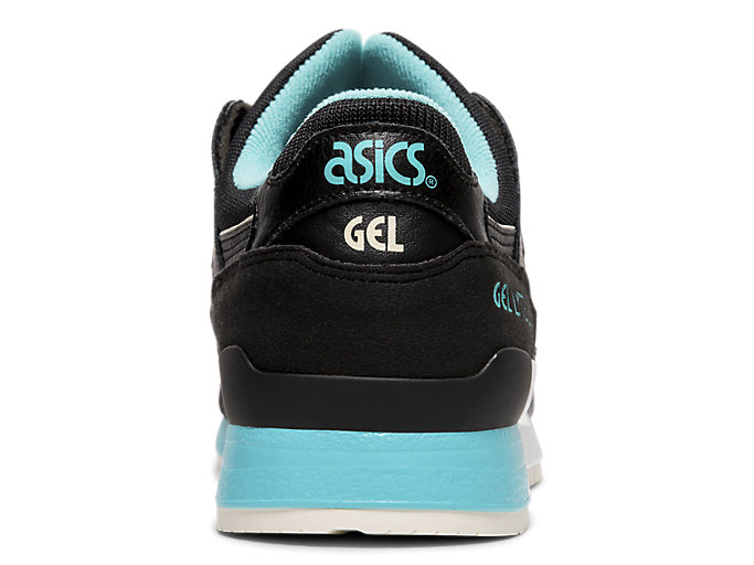 Back view of GEL-LYTE™ III, BLACK/BLACK