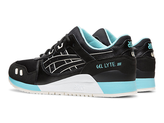 Front Left view of GEL-LYTE™ III, BLACK/BLACK