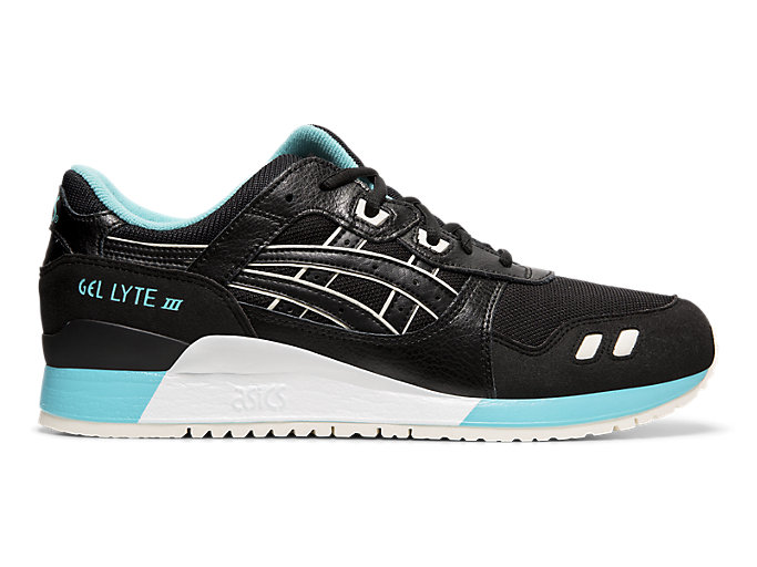 Right side view of GEL-LYTE™ III, BLACK/BLACK