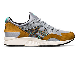 Right side view of GEL-LYTE V, PIEDMONT GREY/BLACK