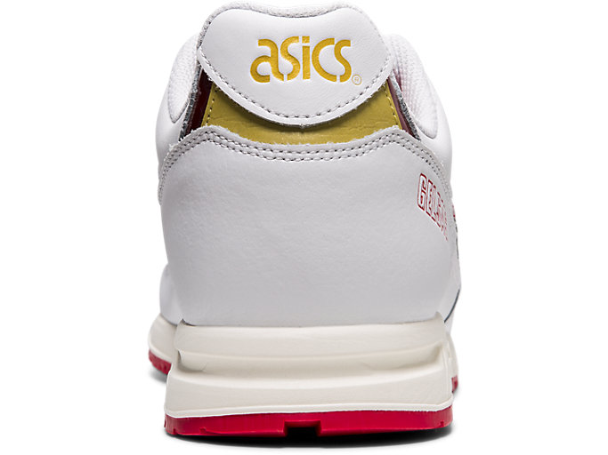Back view of GELSAGA™, WHITE/SPEED RED
