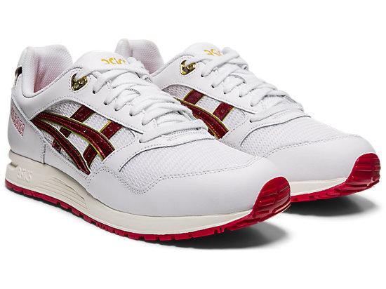 GELSAGA WHITE/SPEED RED