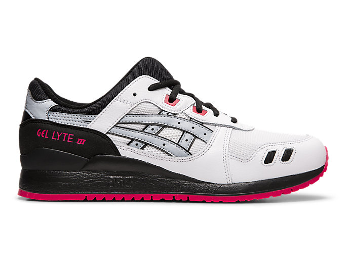 Right side view of GEL-LYTE™ III, WHITE/PIEDMONT GREY
