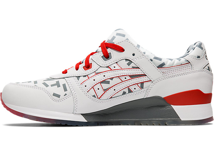 Left side view of GEL-LYTE™ III, WHITE/WHITE