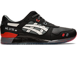 Right side view of GEL-LYTE™ III, BLACK/WHITE