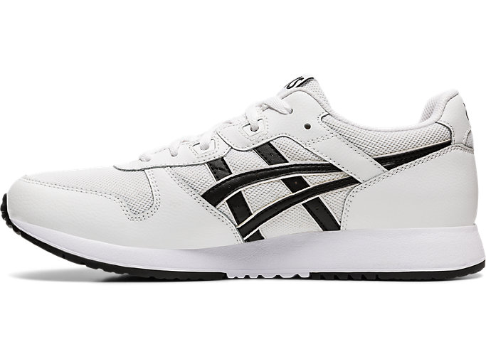 Left side view of LYTE CLASSIC, WHITE/BLACK