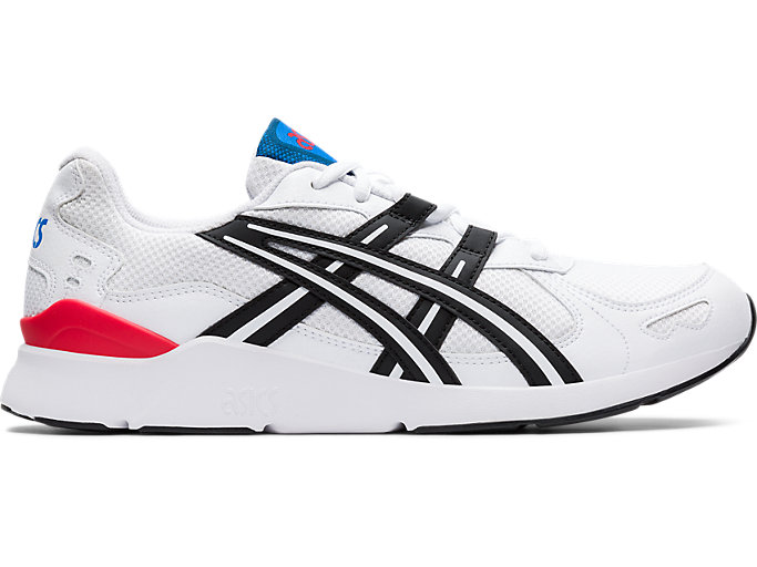Right side view of GEL-LYTE RUNNER 2, WHITE/BLACK