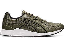Right side view of GEL-LYTE RUNNER 2, MANTLE GREEN/MANTLE GREEN