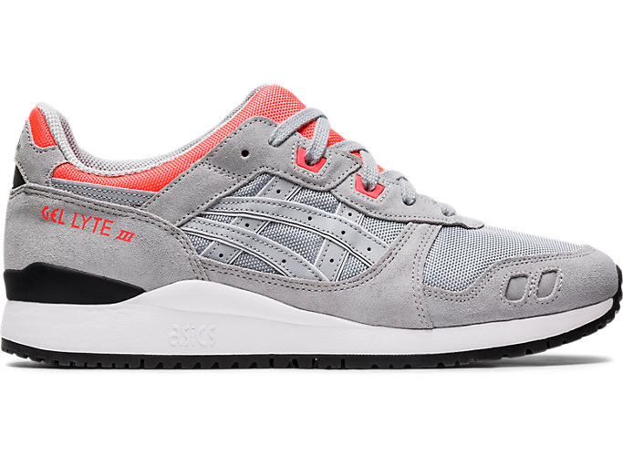 Right side view of GEL-LYTE III OG, PIEDMONT GREY/PIEDMONT GREY