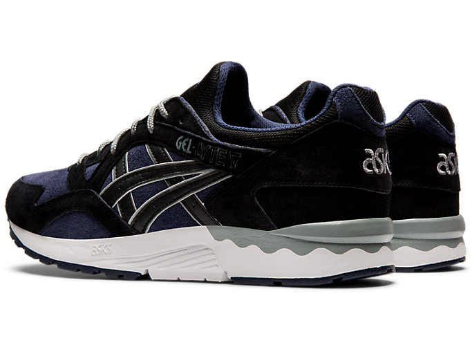 Front Left view of GEL-LYTE V, MIDNIGHT/BLACK