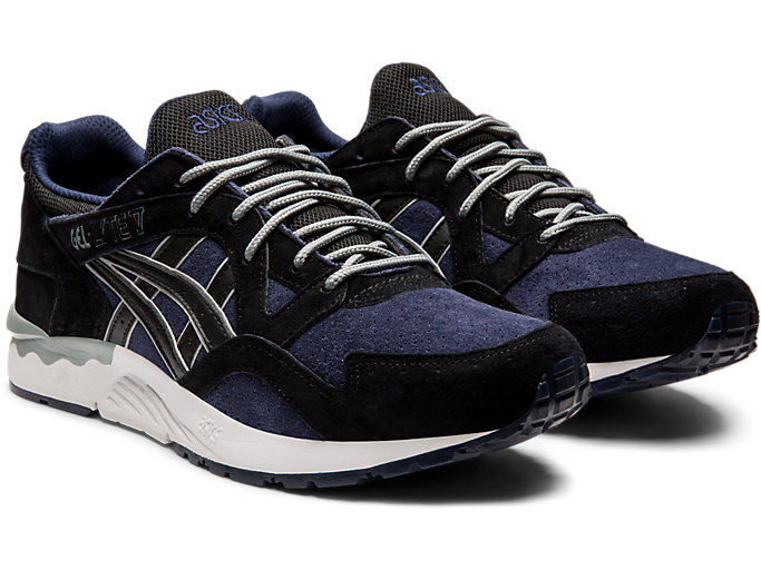 Front Right view of GEL-LYTE V, MIDNIGHT/BLACK