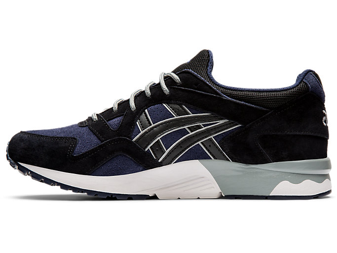 Left side view of GEL-LYTE V, MIDNIGHT/BLACK