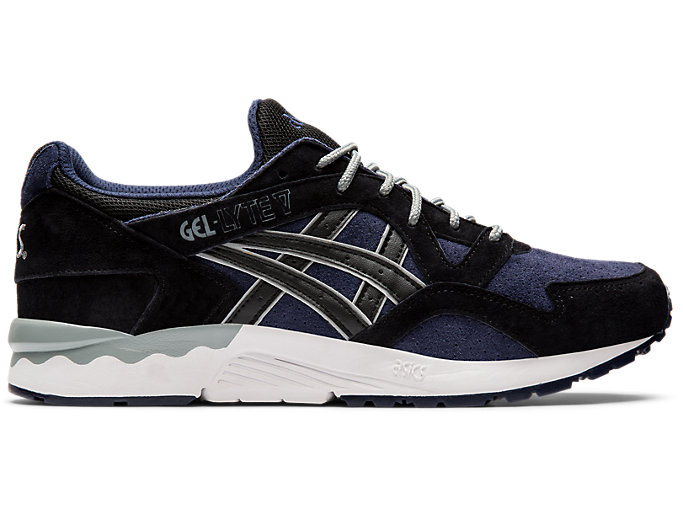 Right side view of GEL-LYTE V, MIDNIGHT/BLACK