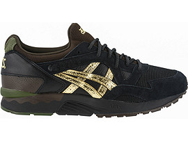Right side view of GEL-LYTE V, BLACK/PURE GOLD
