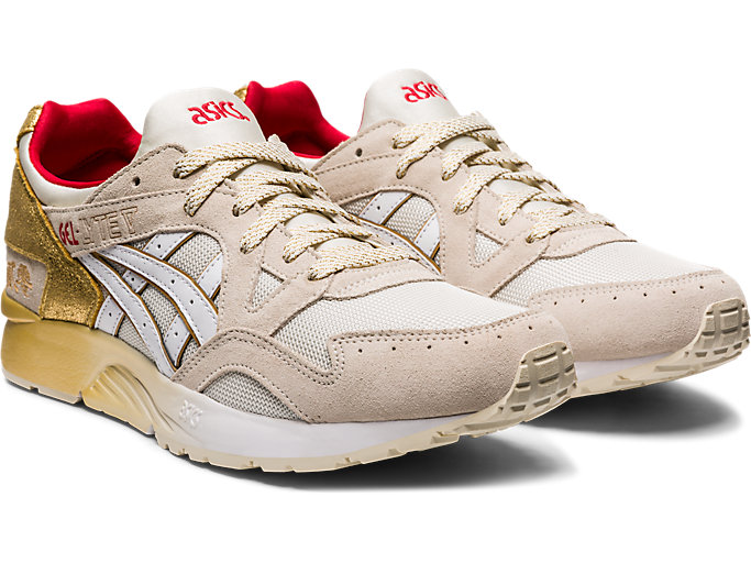 Front Right view of GEL-LYTE V, CREAM/WHITE