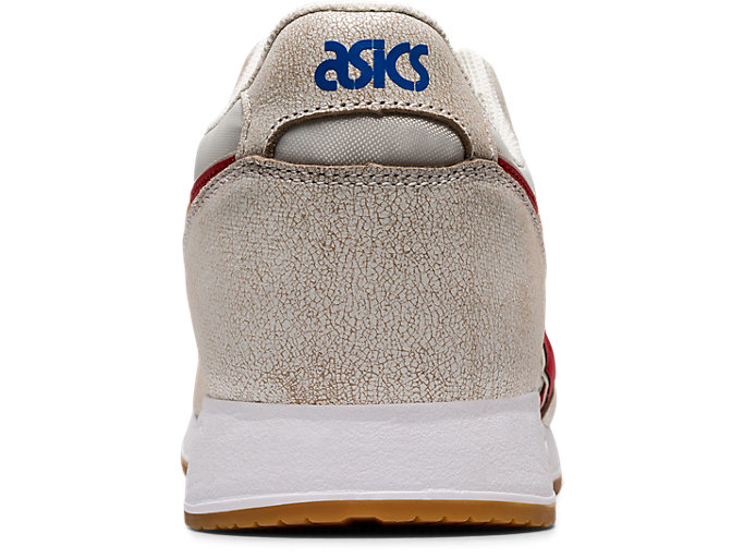 Back view of LYTE CLASSIC, CREAM/CLASSIC RED