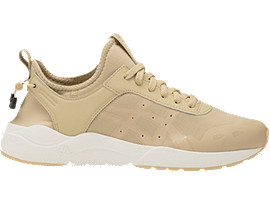 Right side view of GEL-LYTE KEISEI, SAND/MARZIPAN