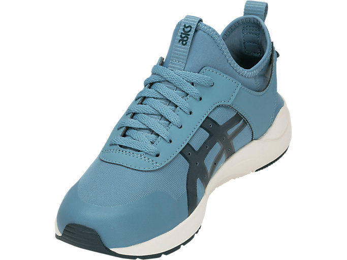 Front Left view of GEL-LYTE KEISEI, GRIS BLUE/DARK OCEAN