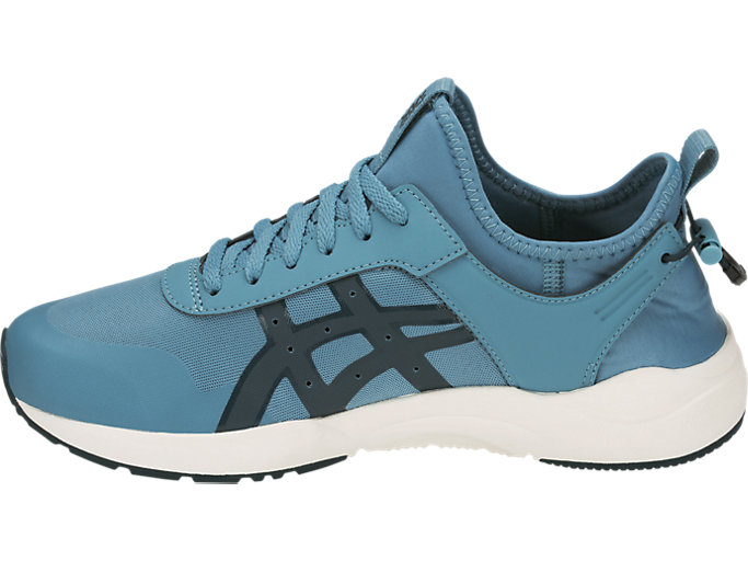 Left side view of GEL-LYTE KEISEI, GRIS BLUE/DARK OCEAN