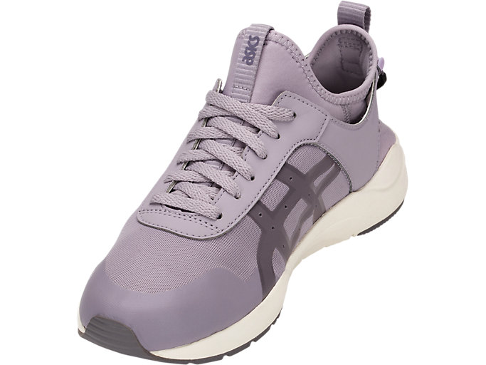 Front Left view of GEL-LYTE KEISEI, SOFT LAVENDER/LAVENDER GREY