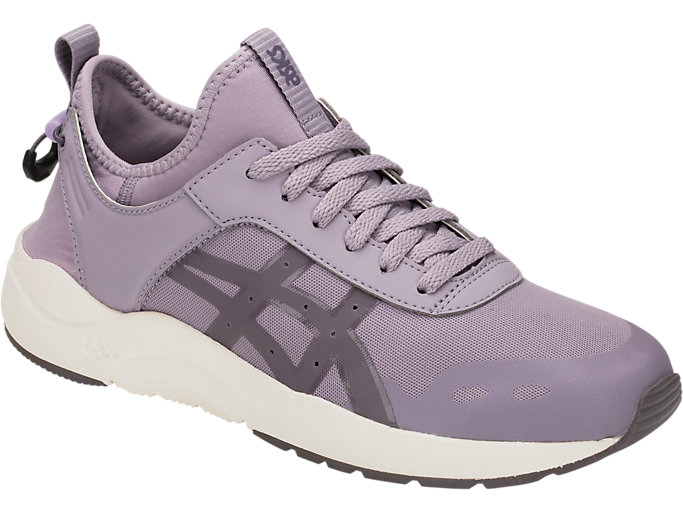Front Right view of GEL-LYTE KEISEI, SOFT LAVENDER/LAVENDER GREY