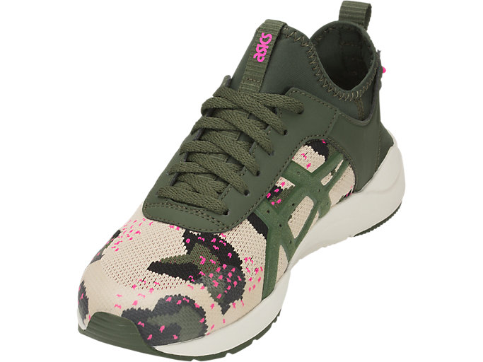 Front Left view of GEL-LYTE KEISEI, MARZIPAN/FOREST