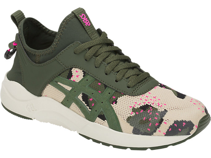 Front Right view of GEL-LYTE KEISEI, MARZIPAN/FOREST
