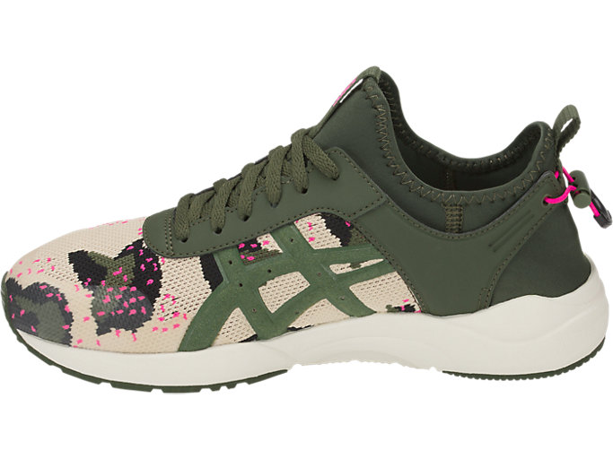 Left side view of GEL-LYTE KEISEI, MARZIPAN/FOREST