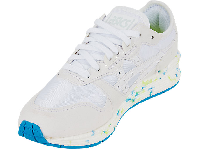 Front Left view of HYPER GEL-LYTE, WHITE/WHITE