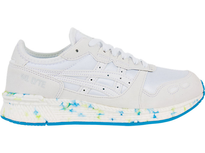 Right side view of HYPER GEL-LYTE, WHITE/WHITE