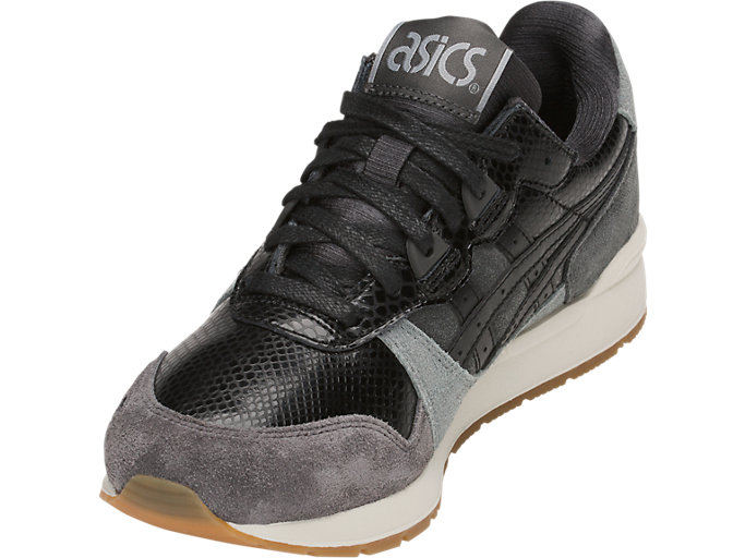 Front Left view of GEL-LYTE, DARK GREY/BLACK