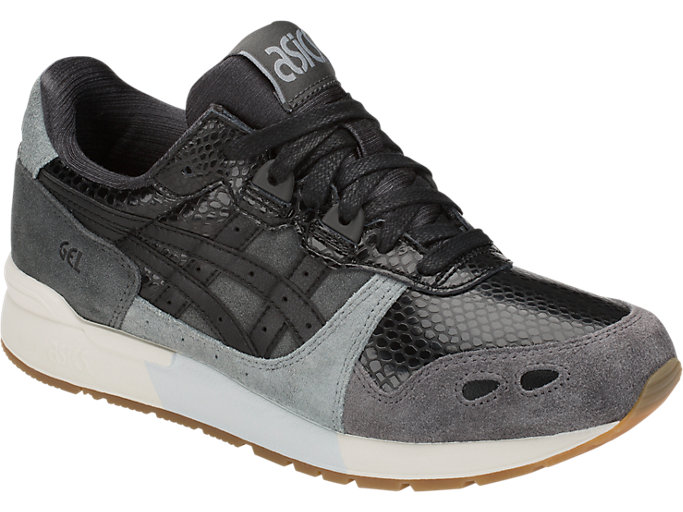 Front Right view of GEL-LYTE, DARK GREY/BLACK
