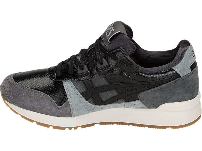 Left side view of GEL-LYTE, DARK GREY/BLACK