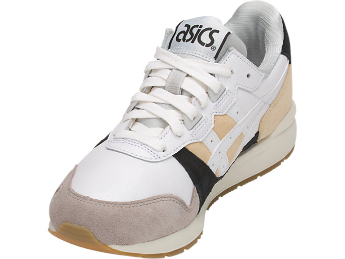 Front Left view of GEL-LYTE, MARZIPAN/WHITE