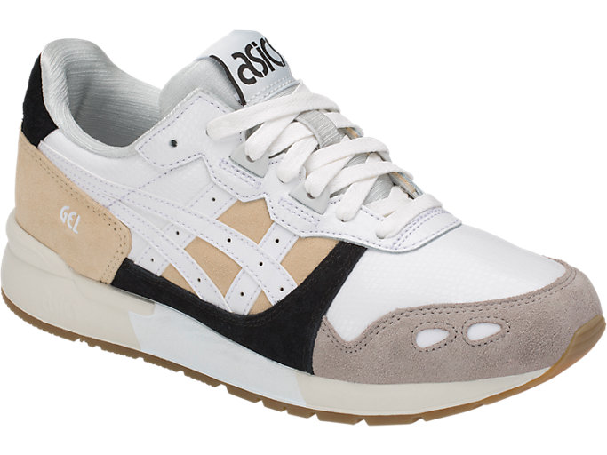 Front Right view of GEL-LYTE, MARZIPAN/WHITE