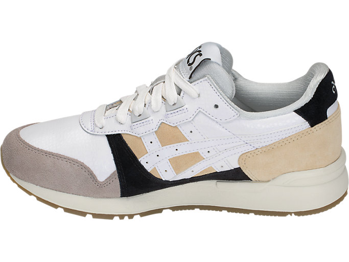 Left side view of GEL-LYTE, MARZIPAN/WHITE