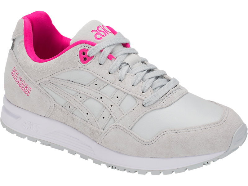 Asics Sneakers Gel Saga Sneakers Performance GREY AND PINK