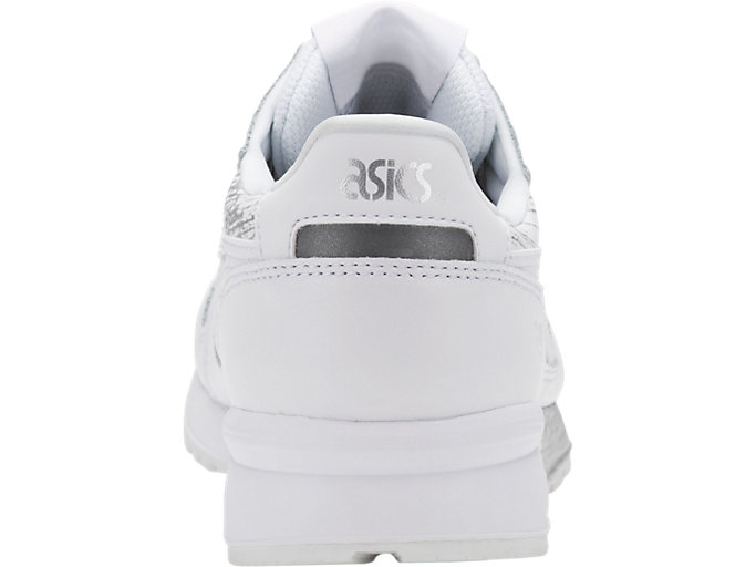 Back view of GEL-LYTE, WHITE/WHITE