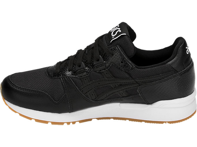 Left side view of GEL-LYTE, BLACK/BLACK