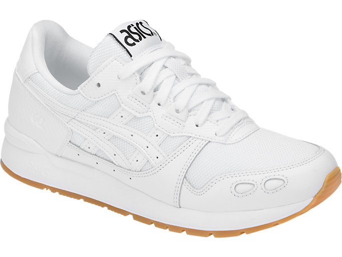 Front Right view of GEL-LYTE, WHITE/WHITE