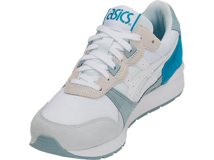 Front Left view of GEL-LYTE, ARCTIC BLUE/WHITE